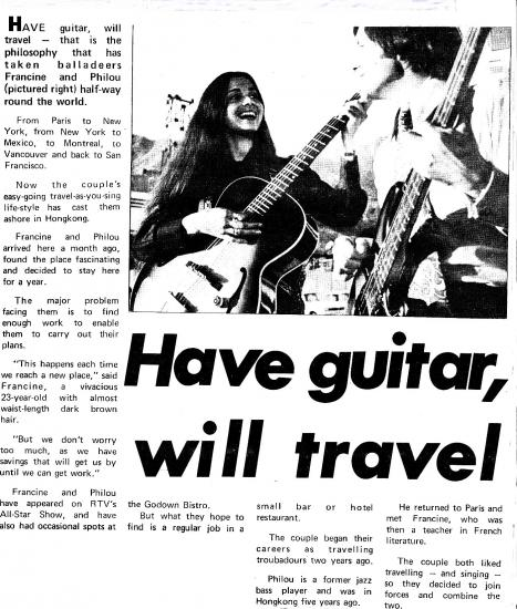 Article have guitar will travel