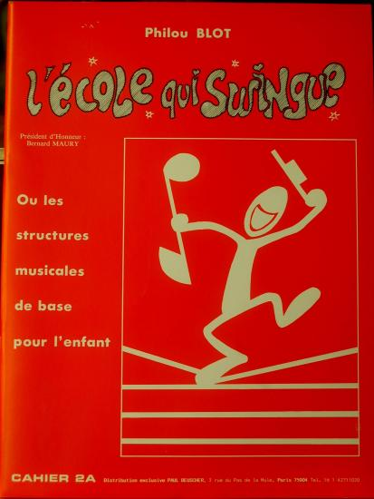 Cahier 2 l ecole qui swingue
