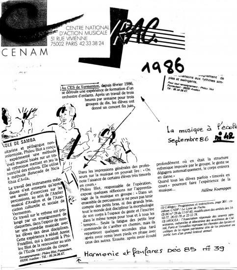 Cenam 1986 retaille