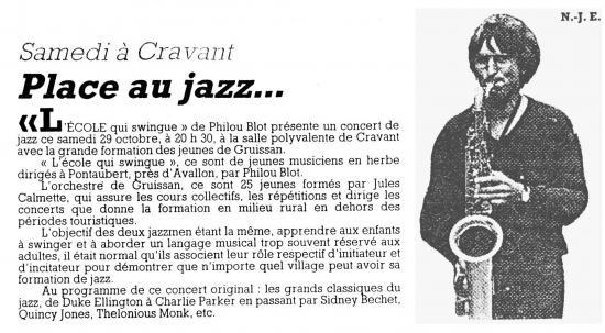 Concert a cravant 88 bis 1