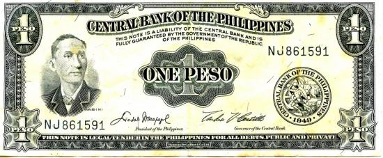 Dollard de philipines a 50