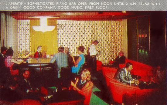 Le piano aperitif bar