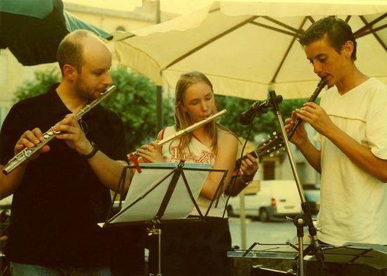 Le trio de flutes